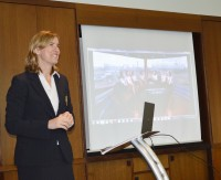 Dr Katherine Grainger joins Deriaz Slater in Business Breakfast Seminar